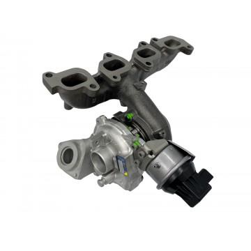 Turbodmychadlo Peugeot 307 2.0 HDi 100 kW